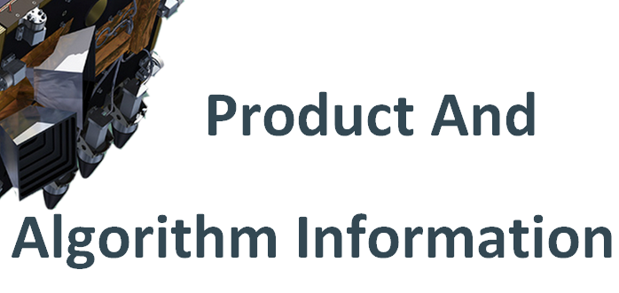 Product and Algorithm Information