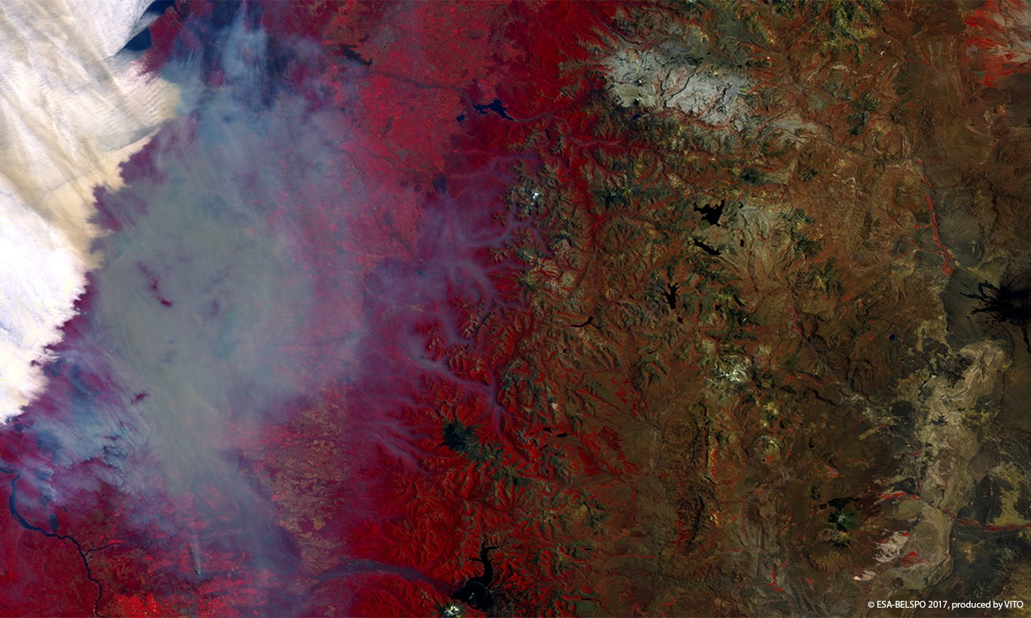Devastating Fires, Chile