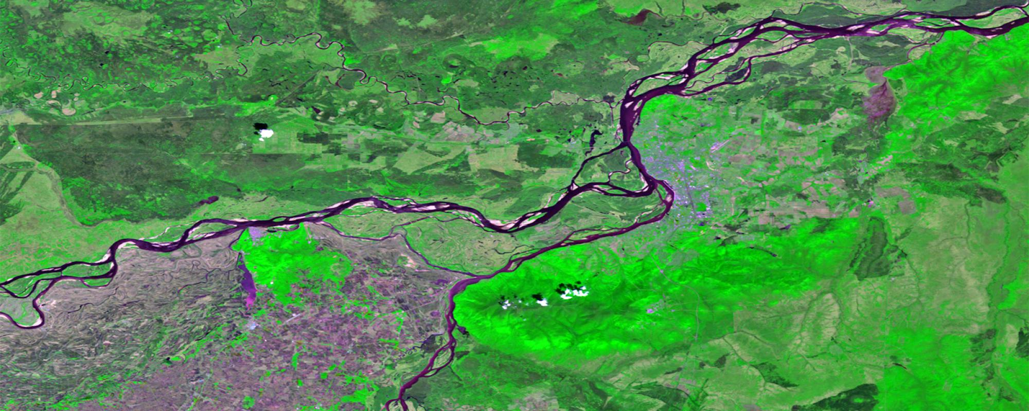 Amur and Ussuri Rivers